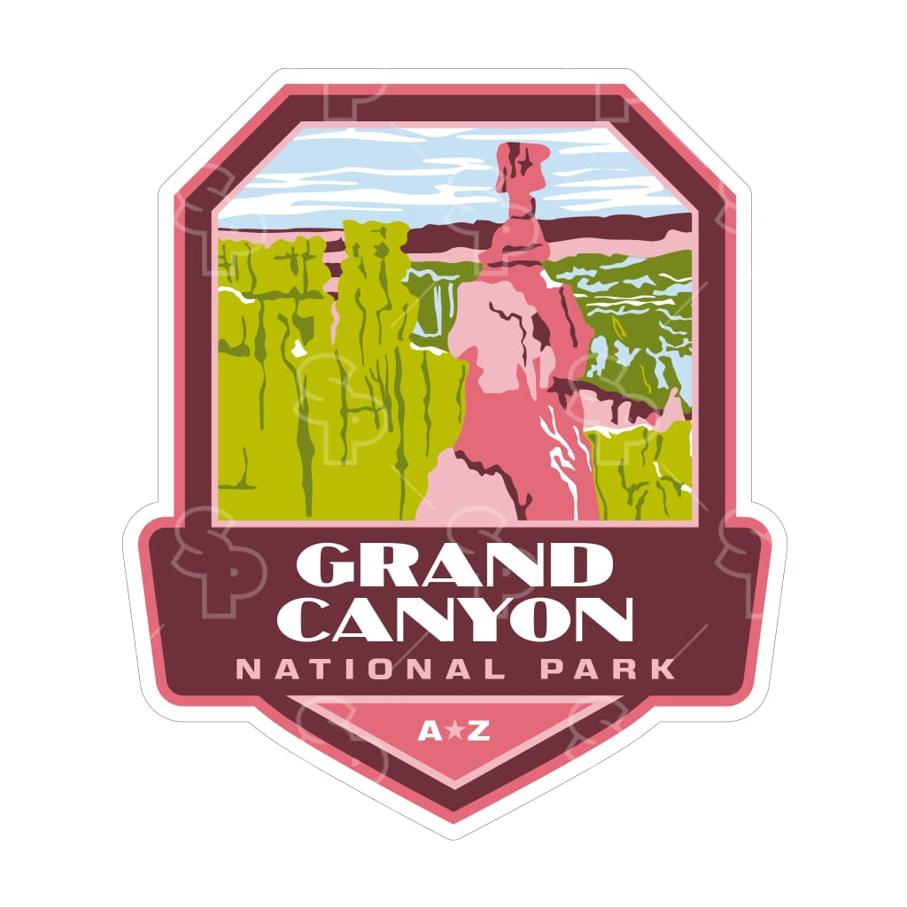 5207 - Np Power Badge Grand Canyon