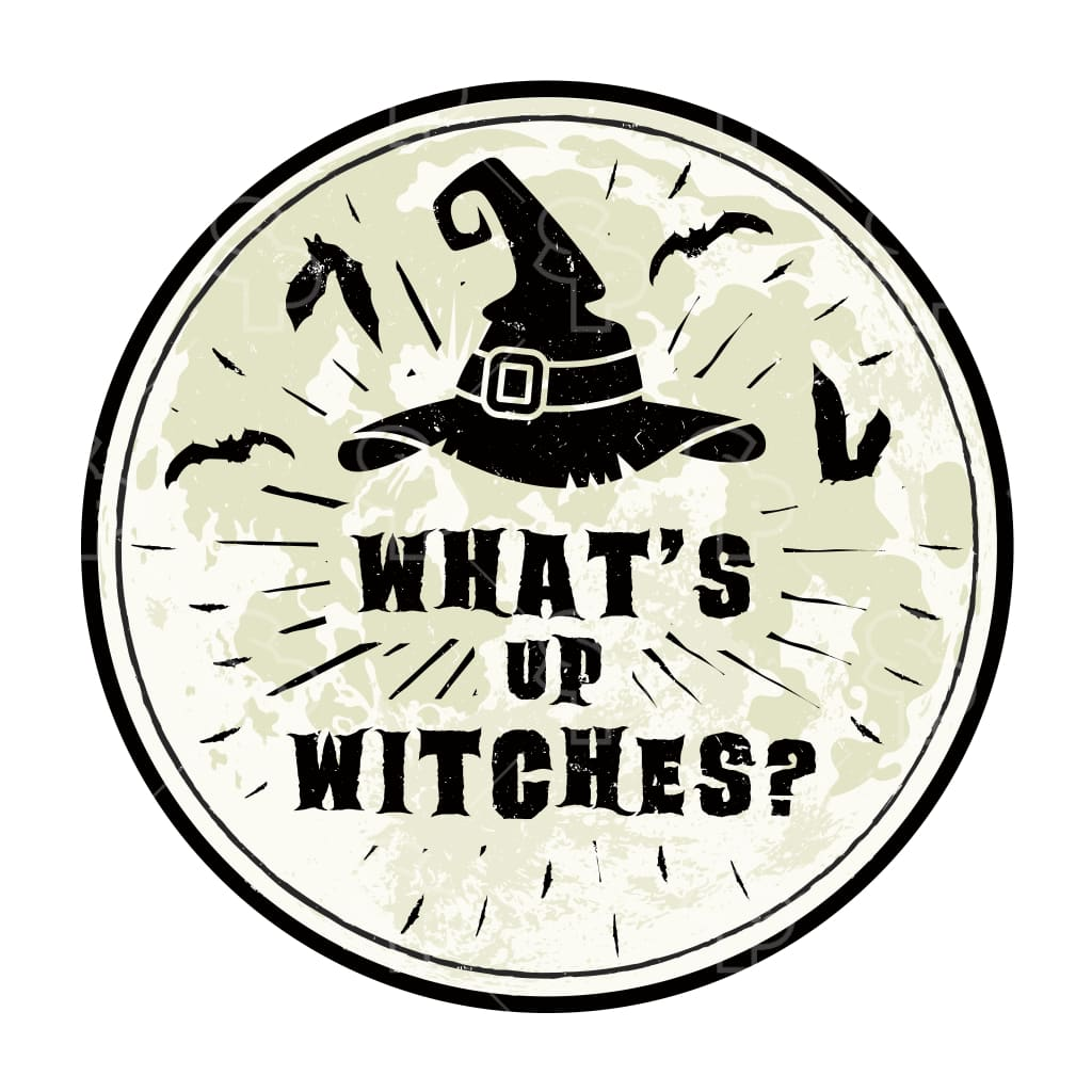 5257 - Gritty Witches Hat & Bats