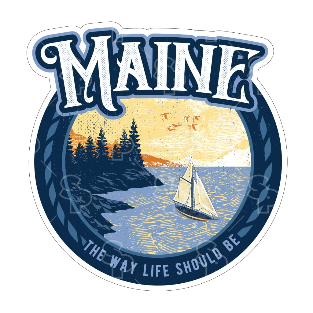535 - Maine Sailing Coast