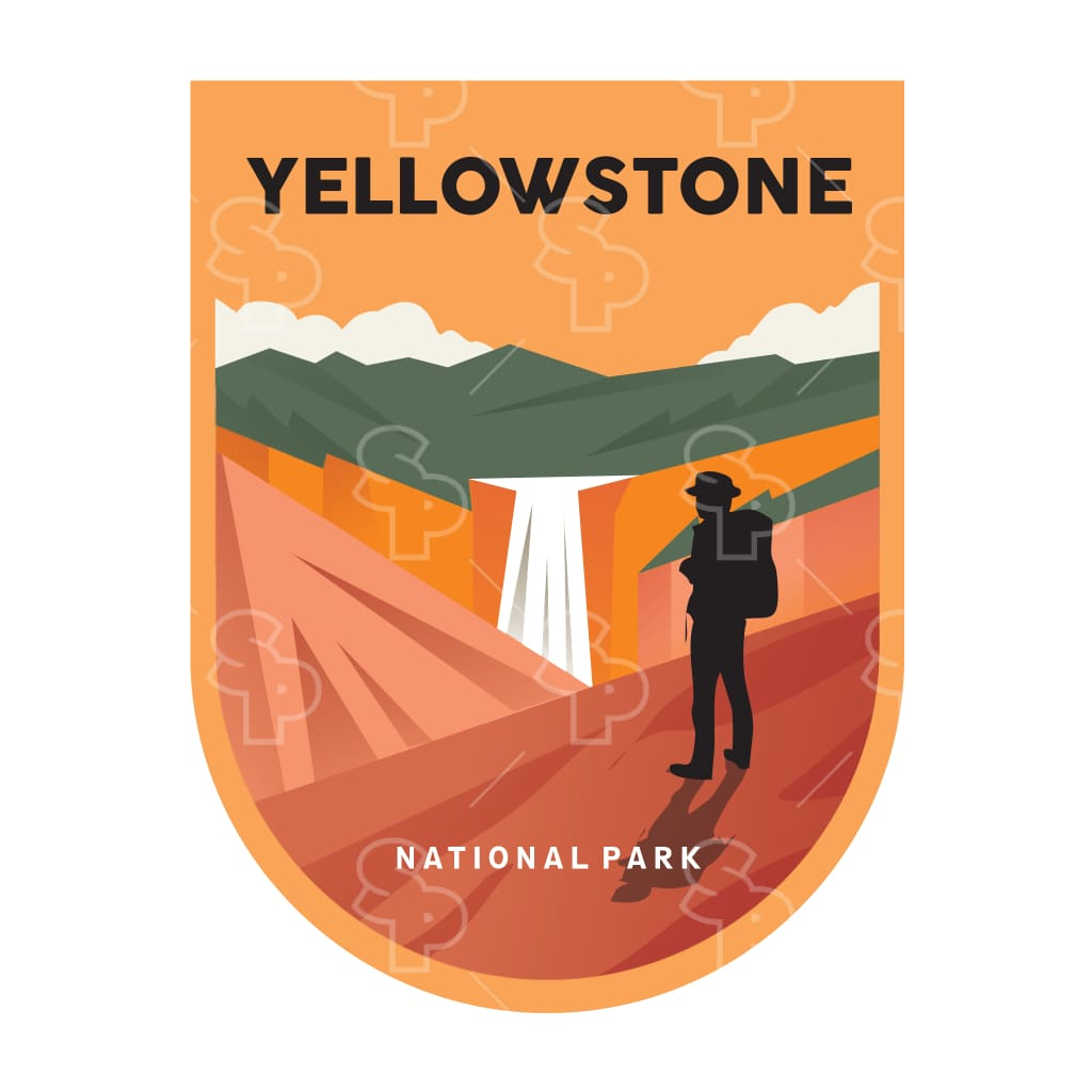 5657 - Yellowstone Hiker