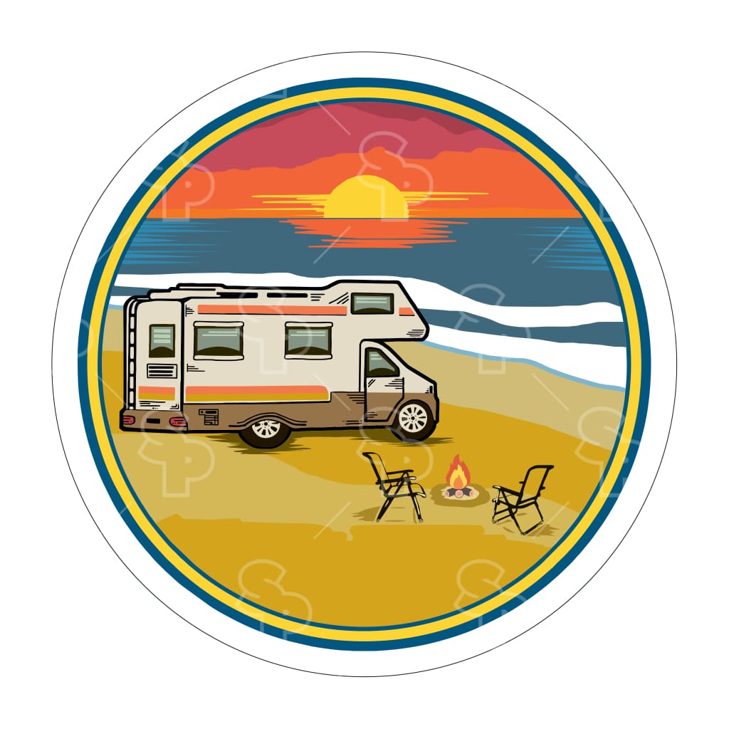 568 - Rv Beach Sunset