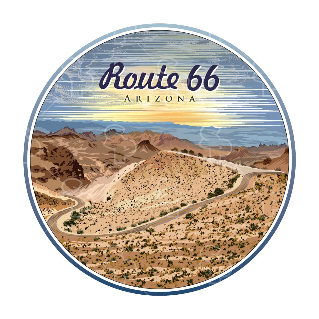 627 - Lines Route 66 Arizona
