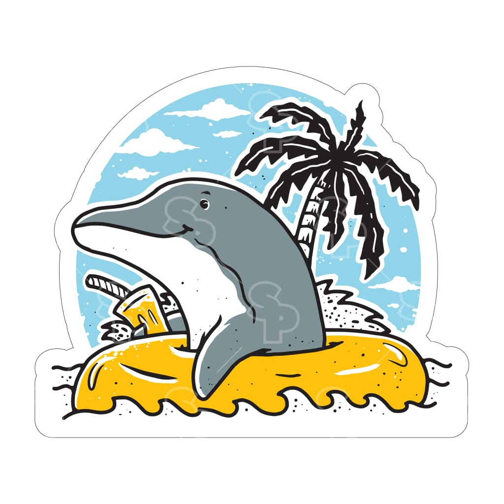 910 - Palm Hand Dolphin