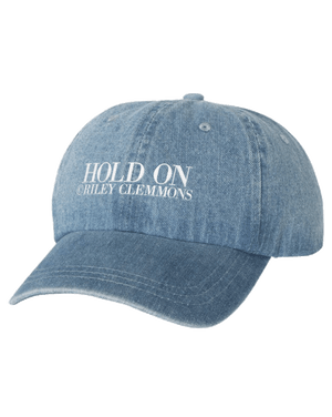 Hold On Hat - Washed Denim
