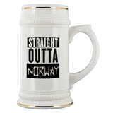Straight Outta Norway Beer Stein
