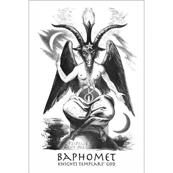 Church of Satan  Baphomet Flag