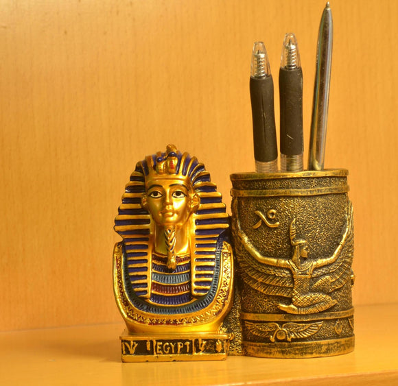 Pharaoh Desktop Pen Holder