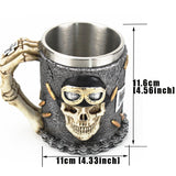 Iron Cross Biker Mug