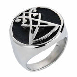 Sigil of Lucifer Stainless Steel Ring
