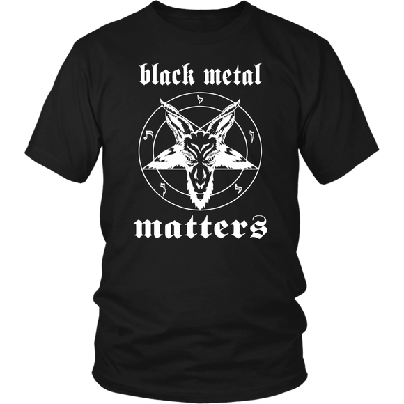 Black Metal Matters T-shirt