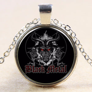 Black Metal Pendant