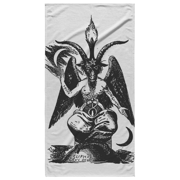 Baphomet Beach Towel
