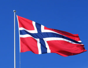 Norwegian Flag 3 x 5 ft