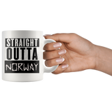 Straight Outta Norway Coffee Cup