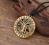 Tree Of Life Pentacle Necklace