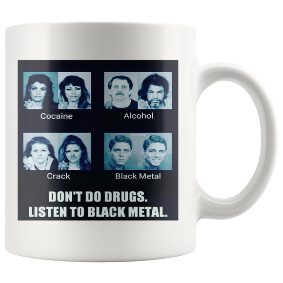 Listen to Black Metal Coffee Cup
