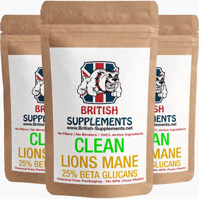 Lions Mane Extract 451mg (Beta Glutans 112mg)