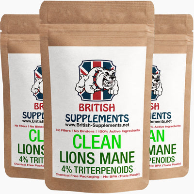 Lions Mane Extract 671mg (Triterpenoids 26mg / Polysaccharides 100mg)
