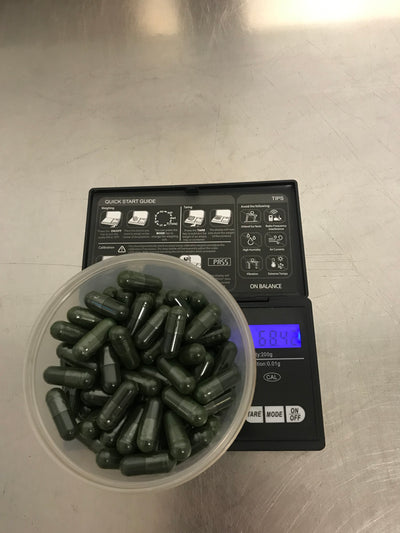 Spirulina 560mg (60% Protein) Clean Genuine Potent