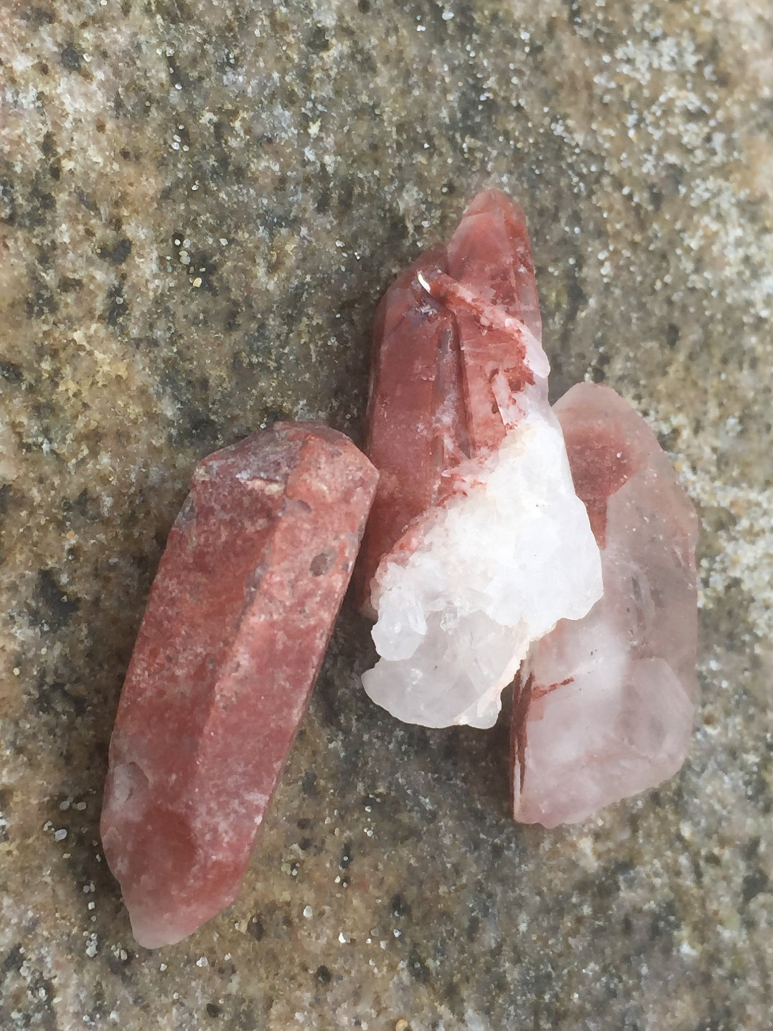 Pink Tibetan Quartz Crystal Healing Set for Inspiring Heart-Centered Action