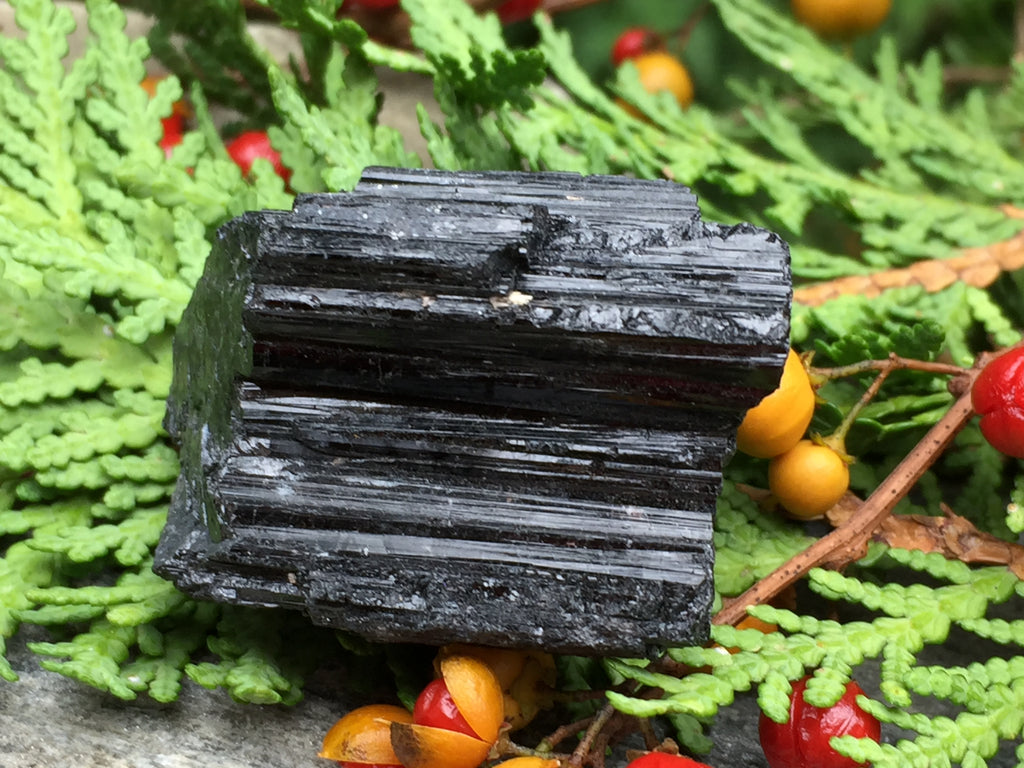 Raw Brazilian Black Tourmaline for Transmutation of Lower Vibrations