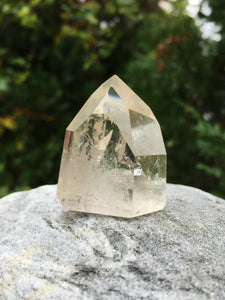 Brazilian Citrine Channeling Crystal Point w/ Optional Intuitive Reading