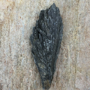Brazilian Black Kyanite for Energetic Cleansing and Interdimensional Travel