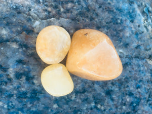Satyaloka Yellow Azeztulite Crystal Healing Set for Alignment with Golden Ray