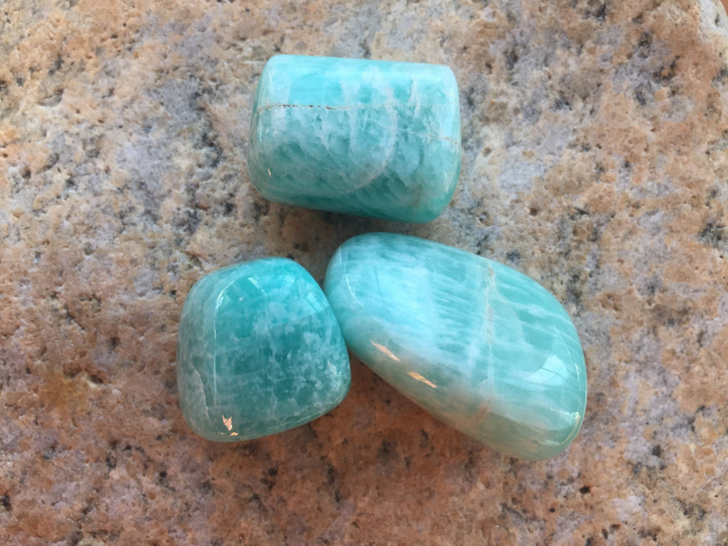 Peruvian Green Chrysocolla Healing Set for Alignment with Divine Feminine