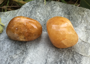 Satyaloka Yellow Azeztulite Crystal Healing Set for Alignment with the Golden Ray