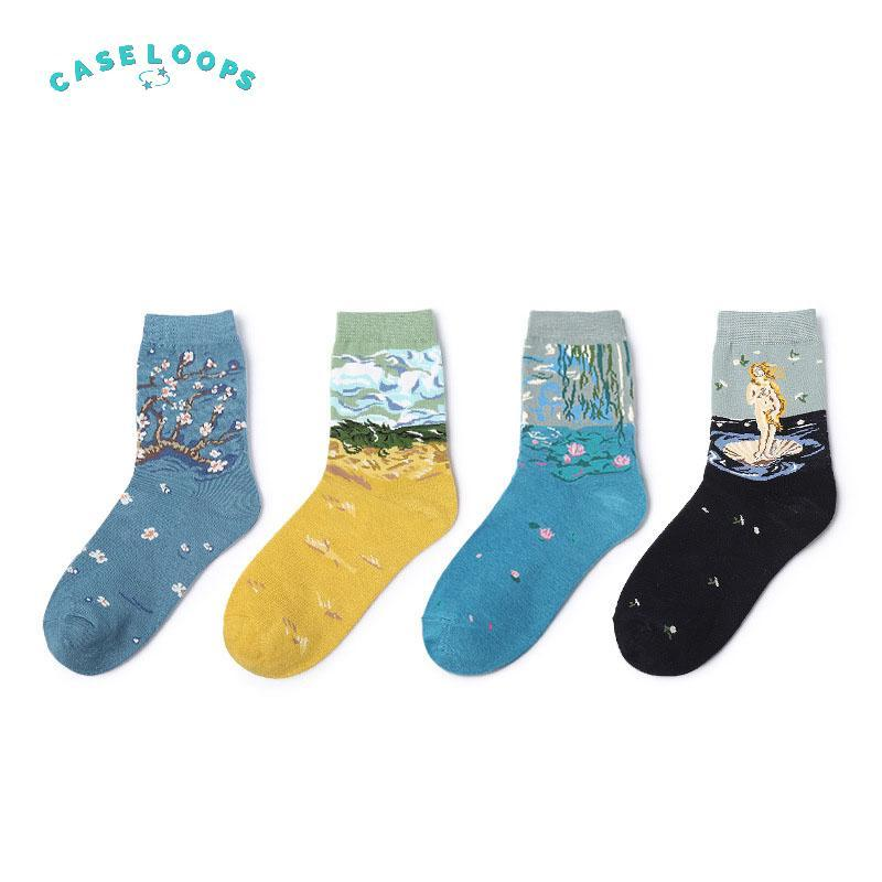 Artistic Painting's Socks