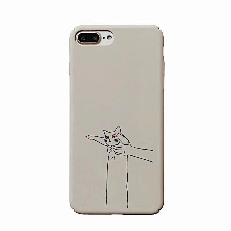 Line Cat Art Case