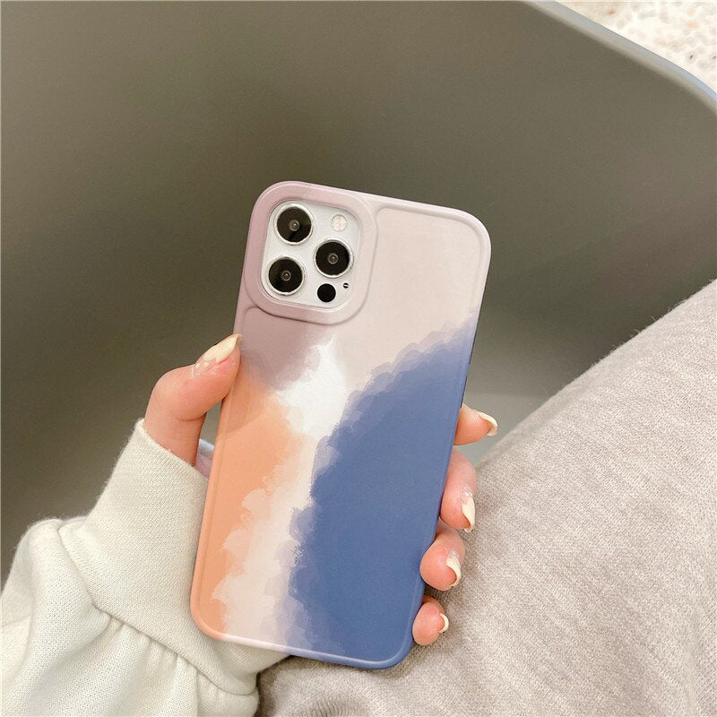 water color art phonecase