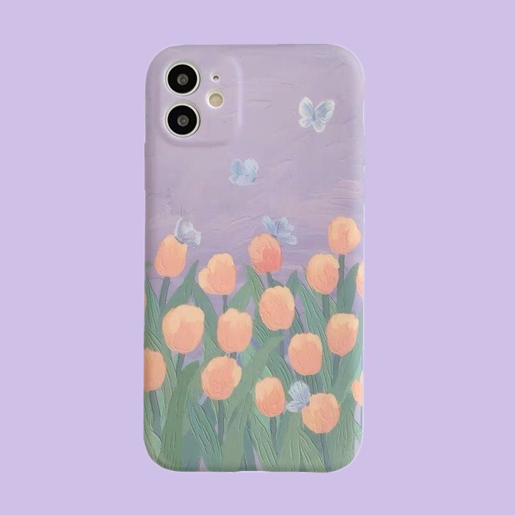 tulip Flowers Case