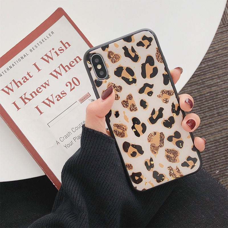 Gold Leopard Pattern Case
