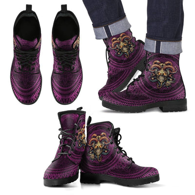 Jester Skull Boots
