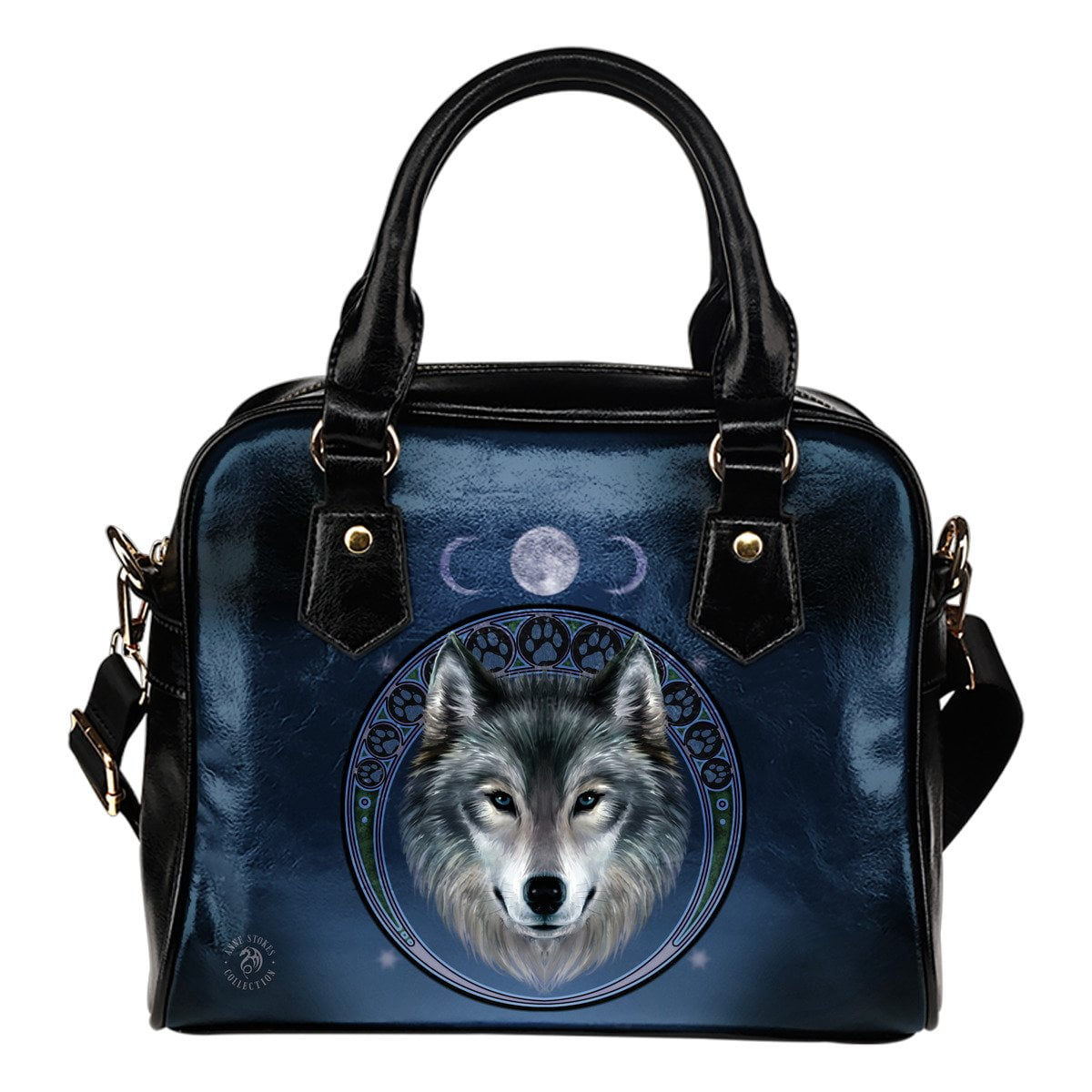 Lunar Wolf Shoulder Bag