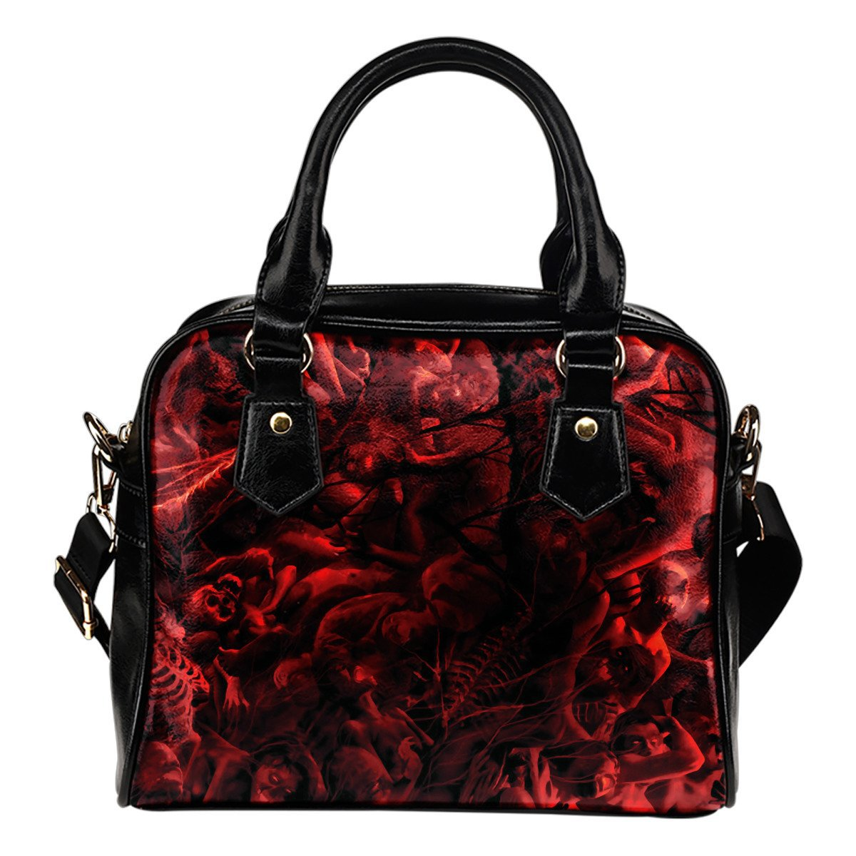 Inferno Dante Shoulder Handbag