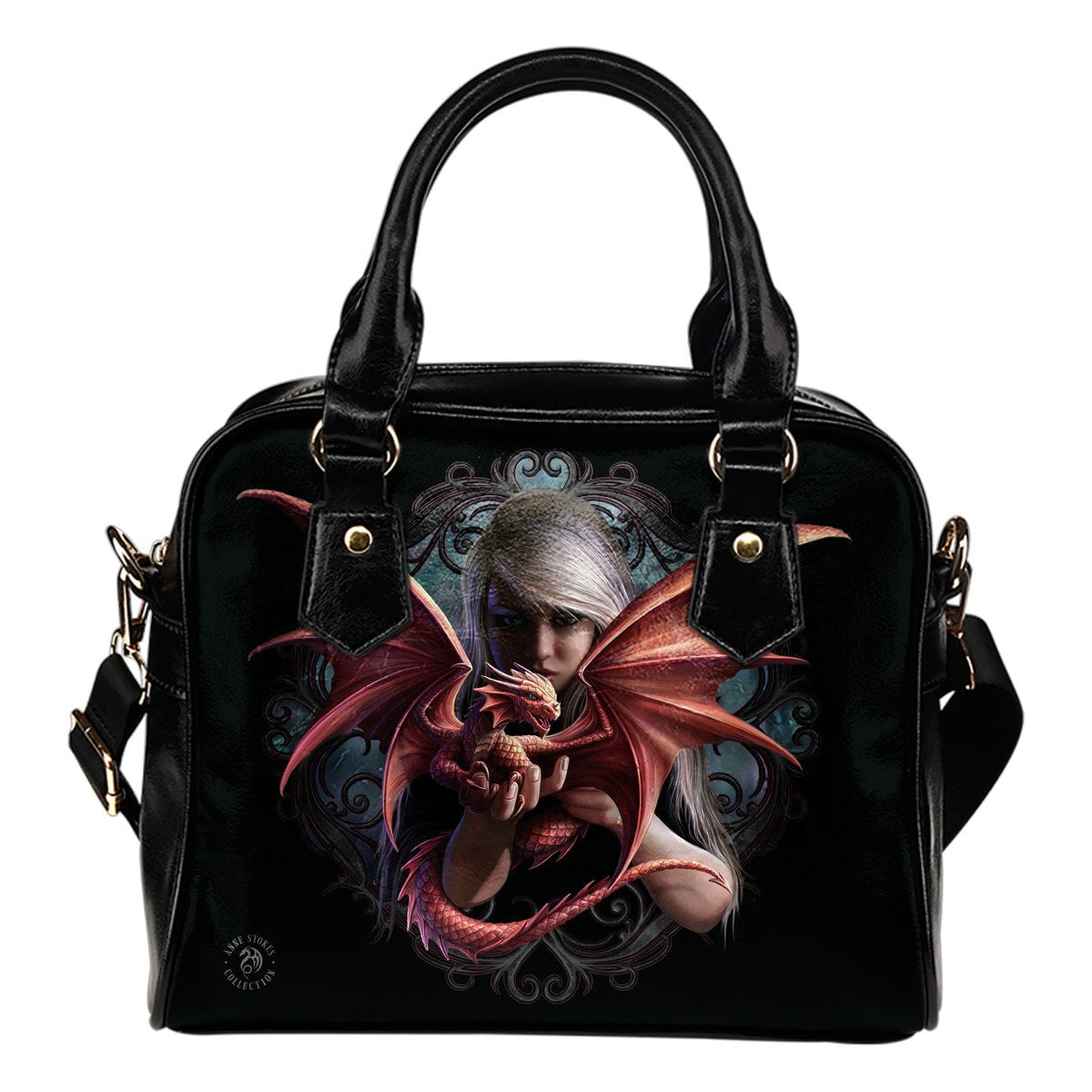 Dragonkin Shoulder Handbag