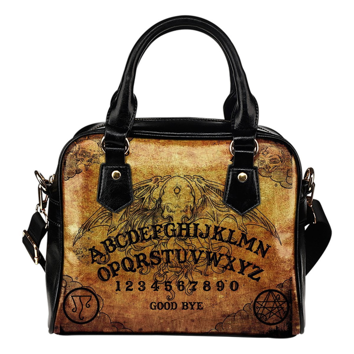 Occult Board Shoulder Handbag