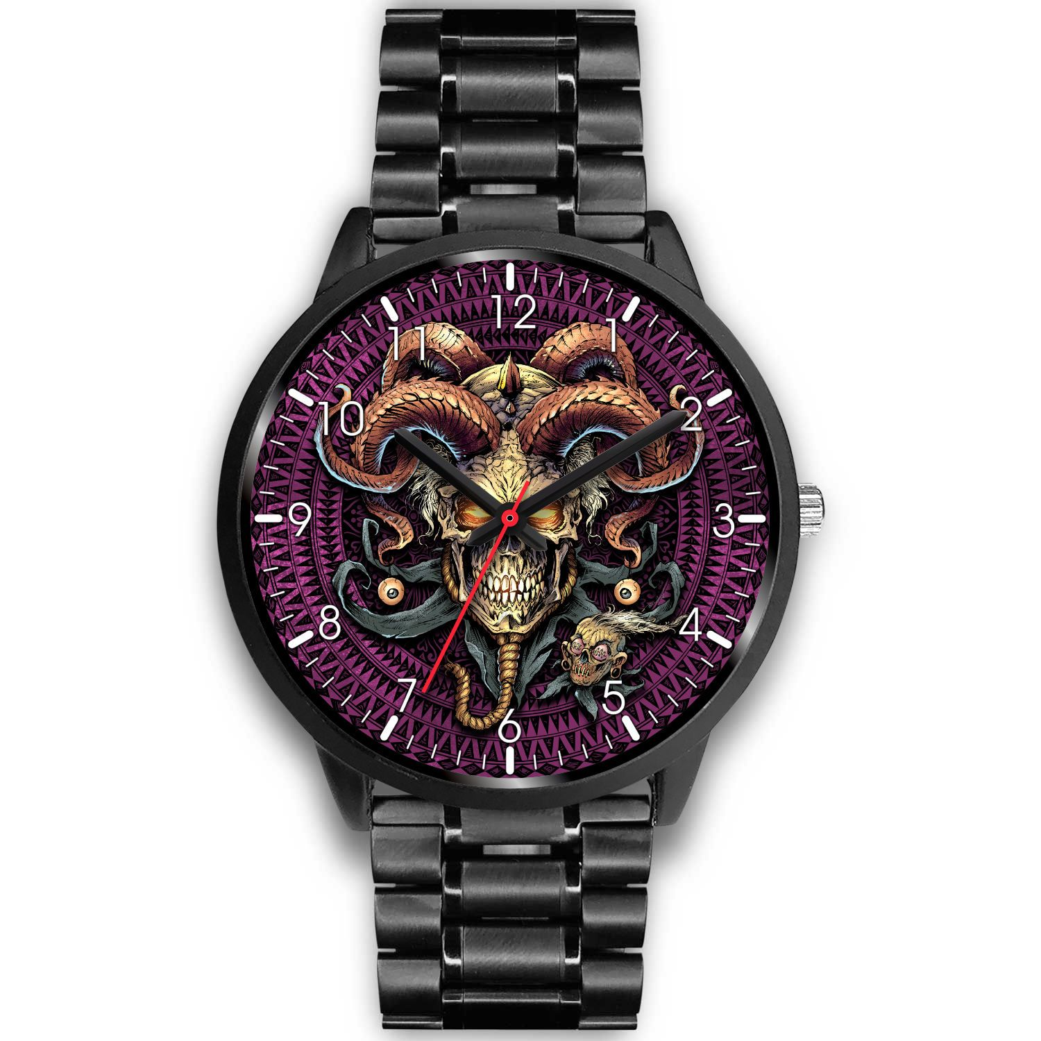 Jester Skull Watch