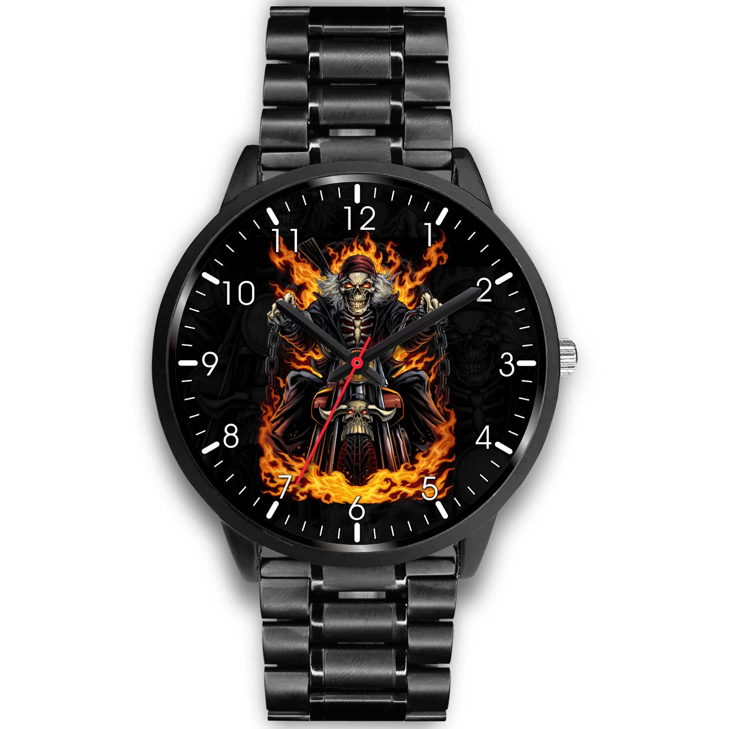 Skeleton Rider Watch