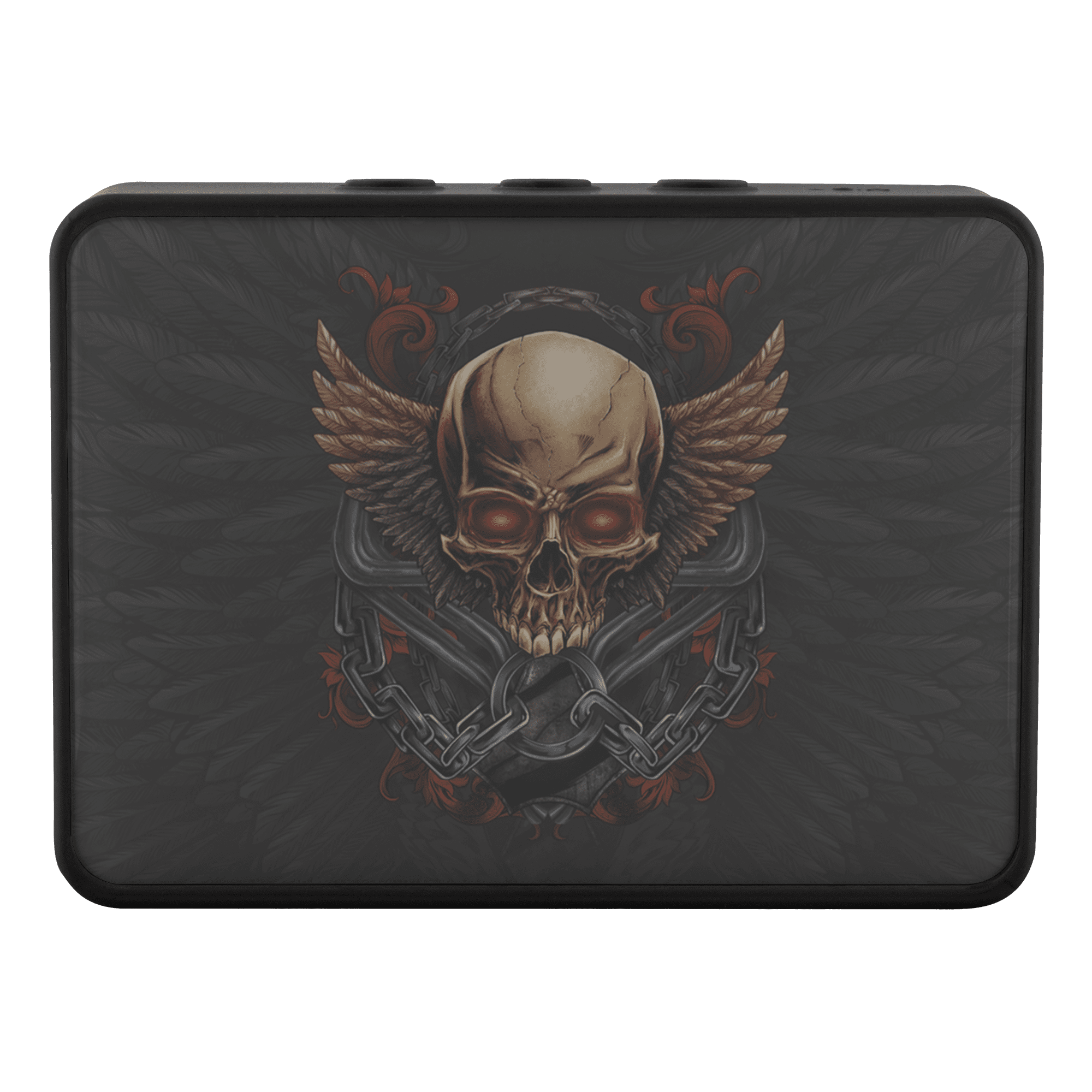 Skull & Wings Portable Bluetooth Speaker