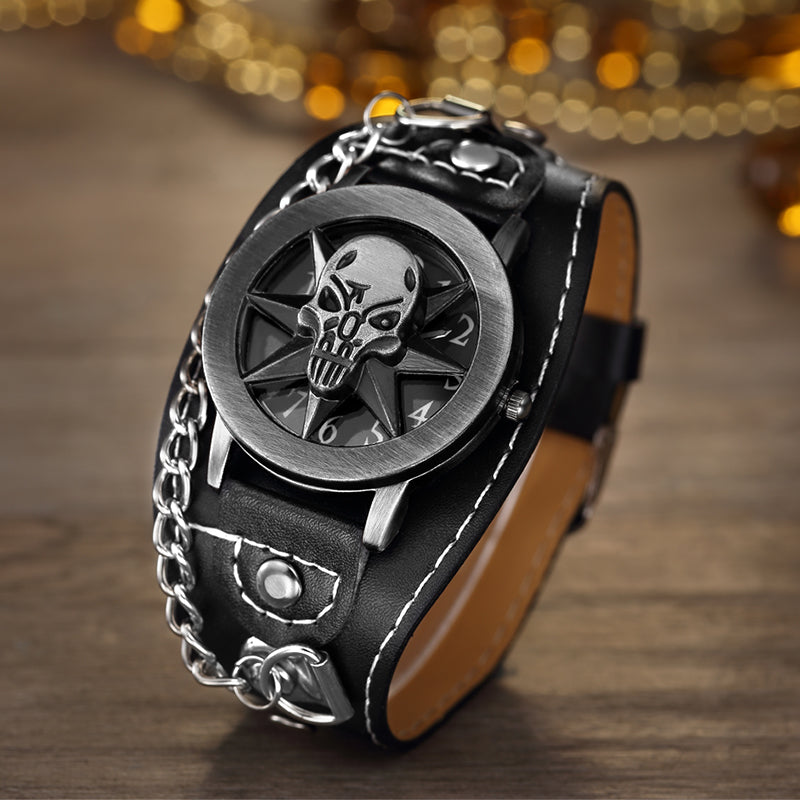 Spike Skull Watch