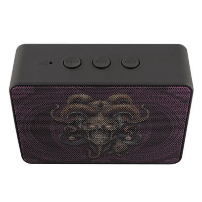 Jester Skull Portable Bluetooth Speaker