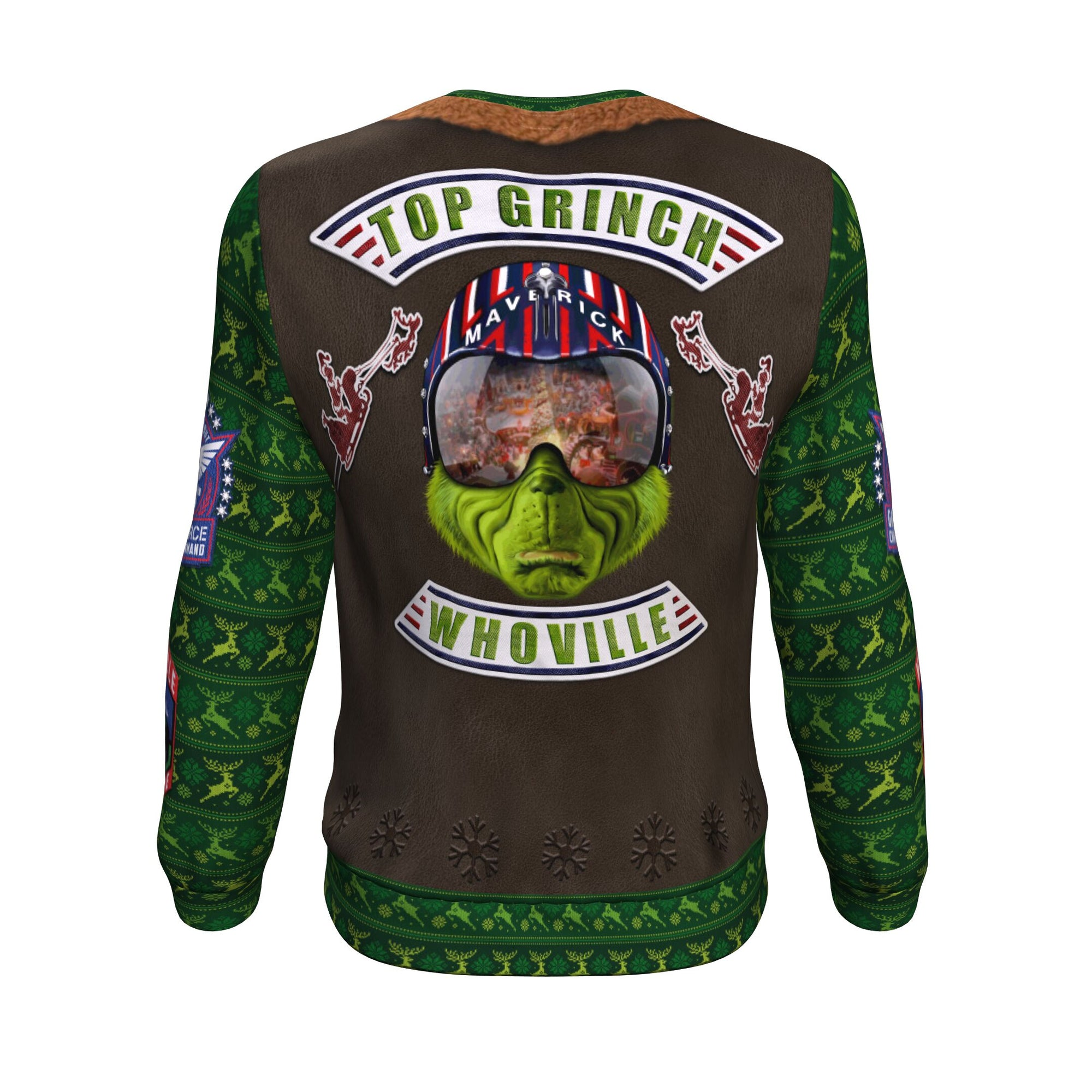 Top Grinch Sweatshirt