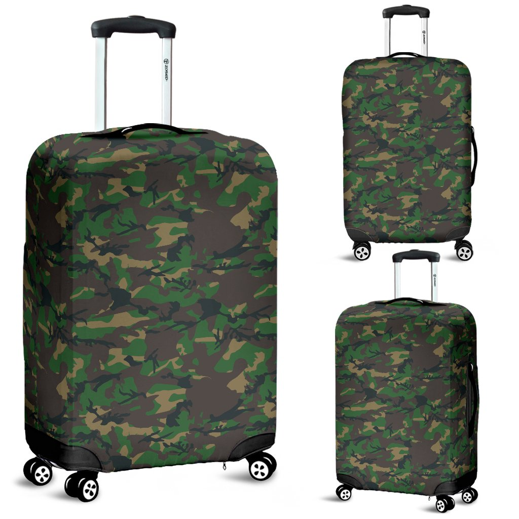 Camo Luggage Cover