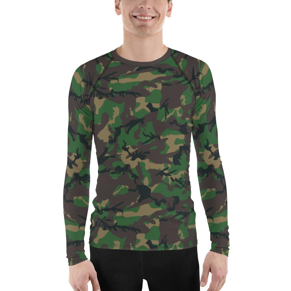 Camo Men's Rash Guard