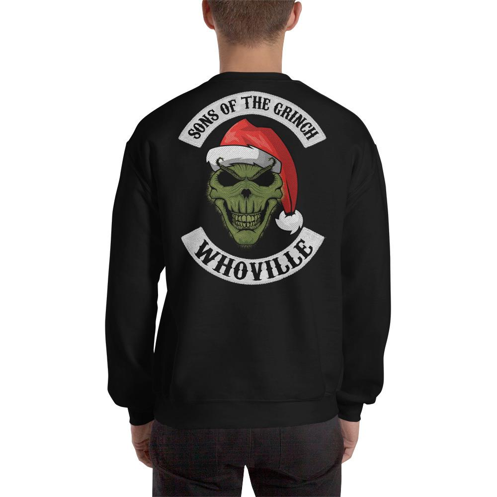 Sons Of The Grinch Black Sweatshirt
