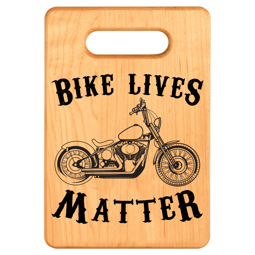 Bike Lives Matter Cutting Board